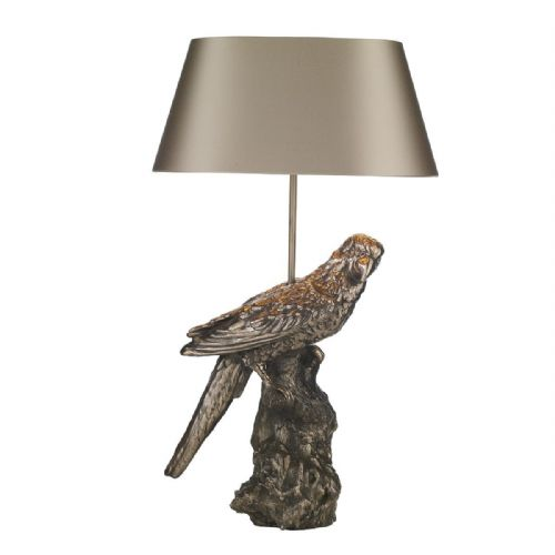 Parrot Table Lamp Bronze Base Only PAR4363 (7-10 day Delivery)